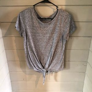 Heather Gray tee